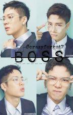 Boss + J. Wang. by crazyforgot7
