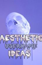 aesthetic usernames for tumblr by sadvalentines