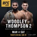 UFC209live11
