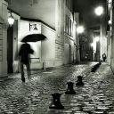 street lights;