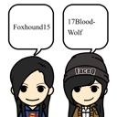 Foxhound15 and 17BloodWolf